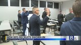 Rochester police hold ceremony for new recruits