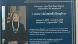 Rochester train station renamed in honor of late Rep. Louise Slaughter