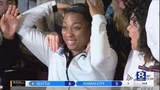 Cierra Dillard drafted 20th overall in WNBA Draft by Minnesota Lynx