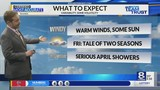 Weather Forecast: Warm and Breezy Today