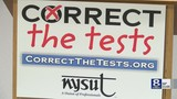 NYSUT addresses issues with standardized testing