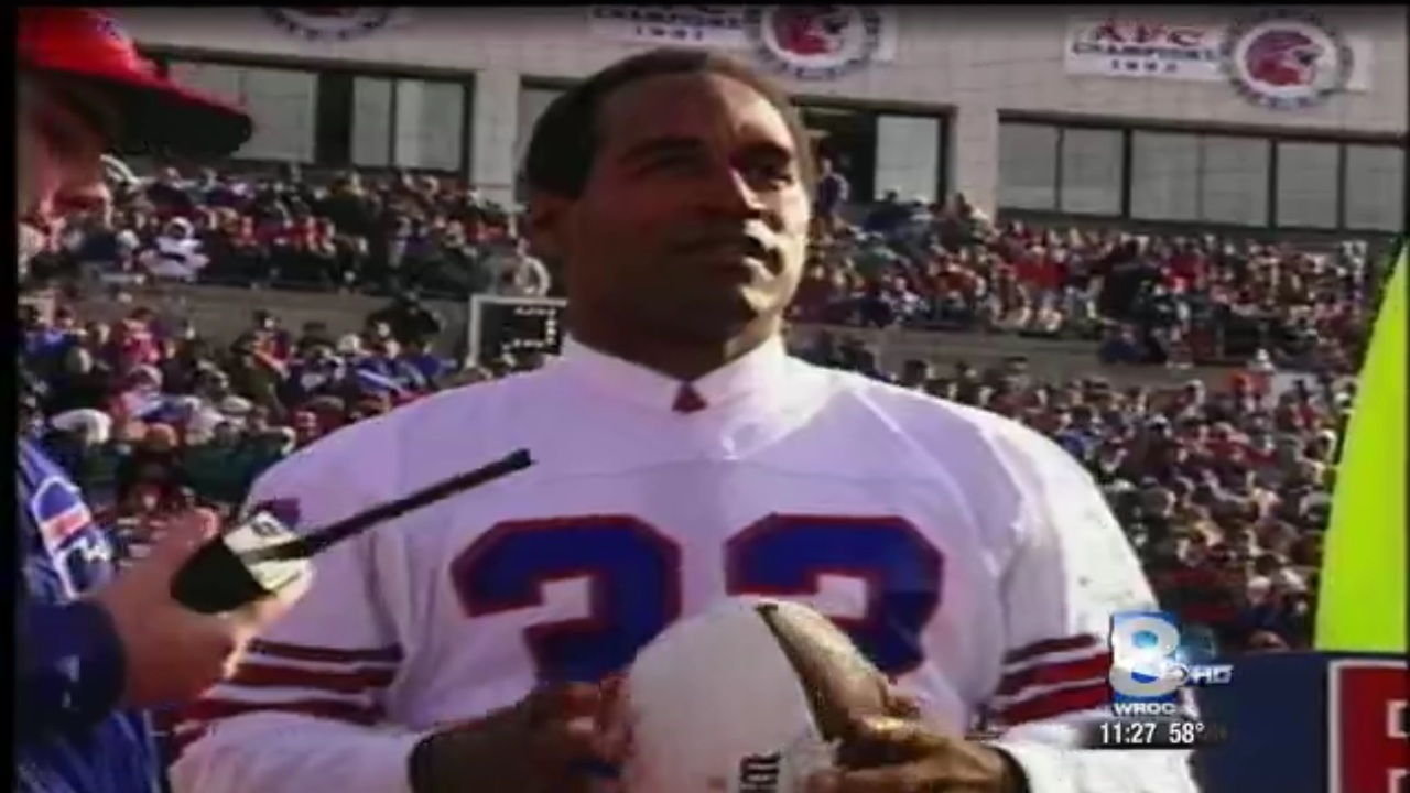 698f167f1d9 Report  Bills player to wear O.J. Simpson s jersey number