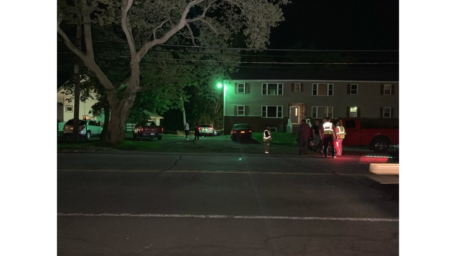 Three hurt, including child after car crashes into Sodus apartment building