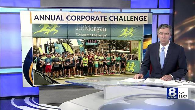 29th annual J P  Morgan Corporate Challenge held in Rochester